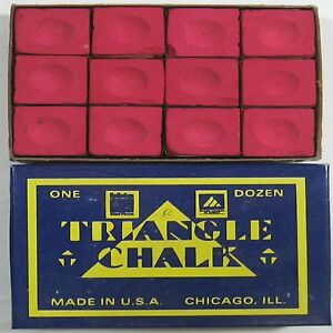 1-x-BOX-OF-RED-Triangle-Snooker-or-Pool-Cue-Chalk
