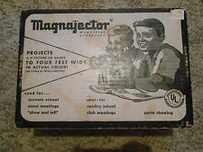 Old Vintage 1960 Magnajector Magnifier projector Pictures Rainbow Crafts in Box