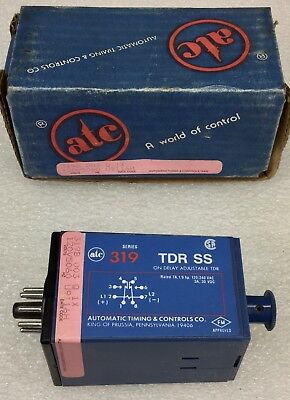 ATC 319D-016-Q-1K SOLID STATE TIME DELAY RELAY 120V 0-30 MINUTES NEW IN BOX