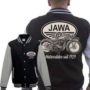 Jawa Collegejacke Motorrad Kult Ostalgie Kraftrad 350,700,50