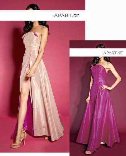 38 pink Neu Von Gr Designer wendekleid abend Apricot Edles Apart U6UvzO