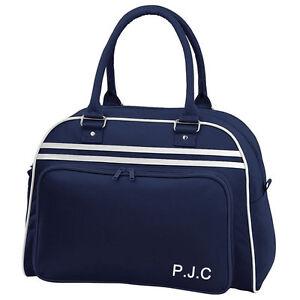 Cívico Oferta de trabajo pantalla  Personalizado de estilo vintage y retro equipaje, Bolsa De Vuelo, bolos  Bolso Estilo Gimnasio, Deportes | eBay