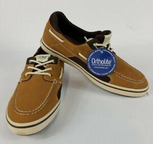Details about Xtratuf Mens Finatic II Tan Deck Shoes w Non Marking Outsole 9M 22307 FREE SHIP