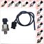 thumbnail 3 - 1/8NPT Pressure Transducer Sender Sensor 0-4.5V Oil Fuel Air Stainless Steel New