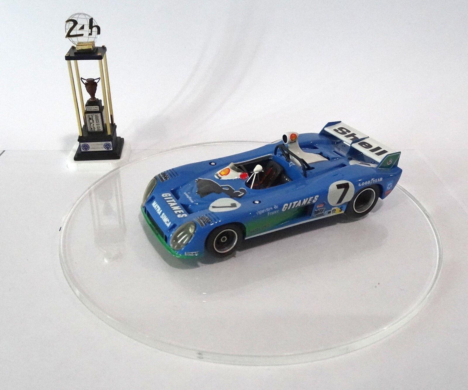 MATRA SIMCA MS 670B  7 GITANES Le Mans 1974 Built Monté Kit 1/43 no spark