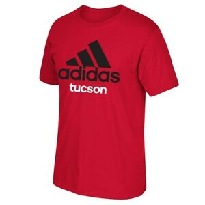 Adidas-Adi-034-Tucson-034-Men-039-s-Red-T-Shirt
