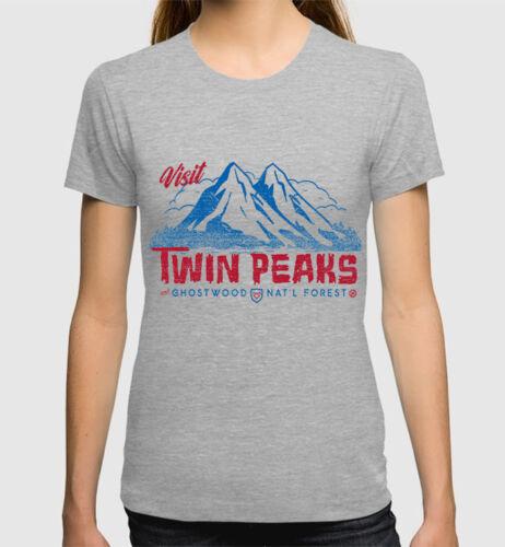David Lynch Tee Men/'s Women/'s All Sizes Visit Twin Peaks T-Shirt