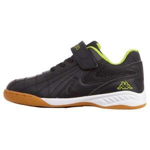 Kappa-Kinder-FURBO-K-Hallensportschuh-Sneaker-Indoor-260776-Schwarz