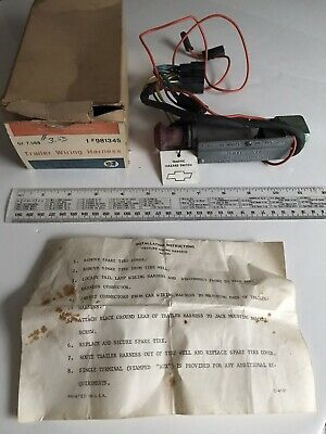 NOS GM 1968? BUICK Trailer Wiring Harness Accessory #981345, General Motors  | eBayeBay