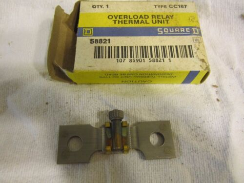 Square D CC167 Overload Heater Thermal Relay