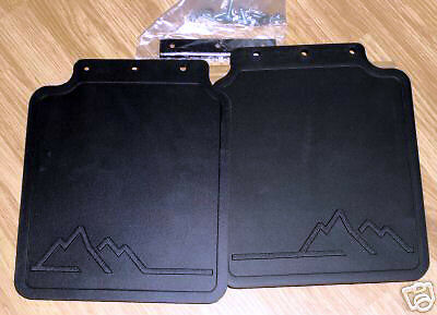 Land Rover Brand OEM Discovery I 1994-1999* Genuine Rear MUD FLAP KIT New