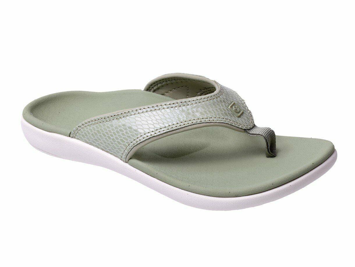 Spenco Yumi Gecko Women's Orthotic Sandal Sage - 8 Medium
