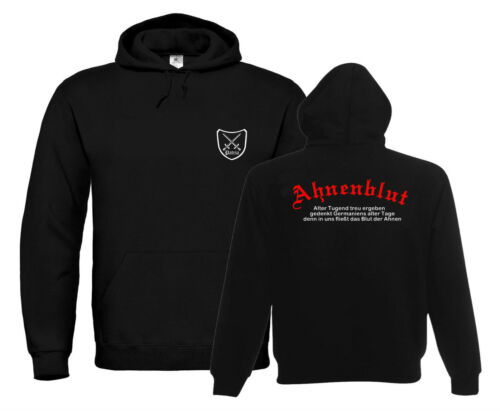 Antenati di sangue hoodie patria-logoateoHeidenGöringvichinghi 842//541-3