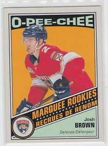 19-20-OPC-JOSH-BROWN-MARQUEE-ROOKIES-RETRO-CARD-518-PANTHERS