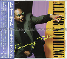 "Tommy Tate - ""All Or Nothing"" - 1992 MINT CD on Japan P-Vine"