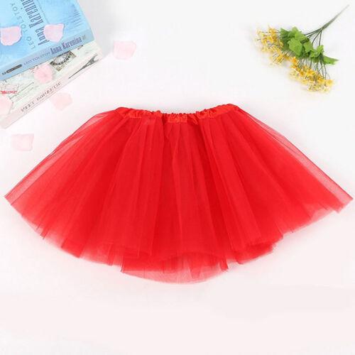 Girl Tutu Skirt Kids Ballet Dance Pettiskirt Baby Princess Bubble Cute Skirt