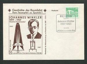 DDR-BAUSTEIN-KARTE-29-034-GESCHICHTE-DER-RAUMFAHRT-034-WELTRAUM-SPACE-WINKLER-d8649