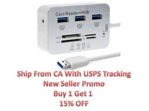 3-Port-Aluminum-USB-3-0-Hub-MS-SD-M2-TF-Multi-In-1-Memory-Card-Reader-Adapter