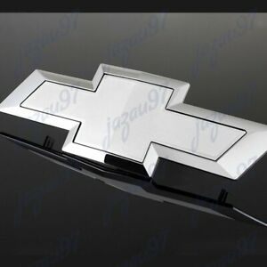 For Silverado Grill Bowtie Emblem Grille 2014-2015 GM Chevy Chevrolet NEW White