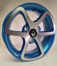 4 x Original Twizy 13 Zoll Felgen Leichtmetallfelgen Renault Blau NEU/OVP