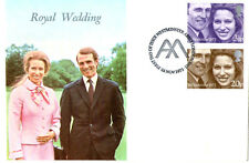 14 NOVEMBER 1973 ROYAL WEDDING WESSEX FIRST DAY COVER WESTMINSTER ABBEY SHS