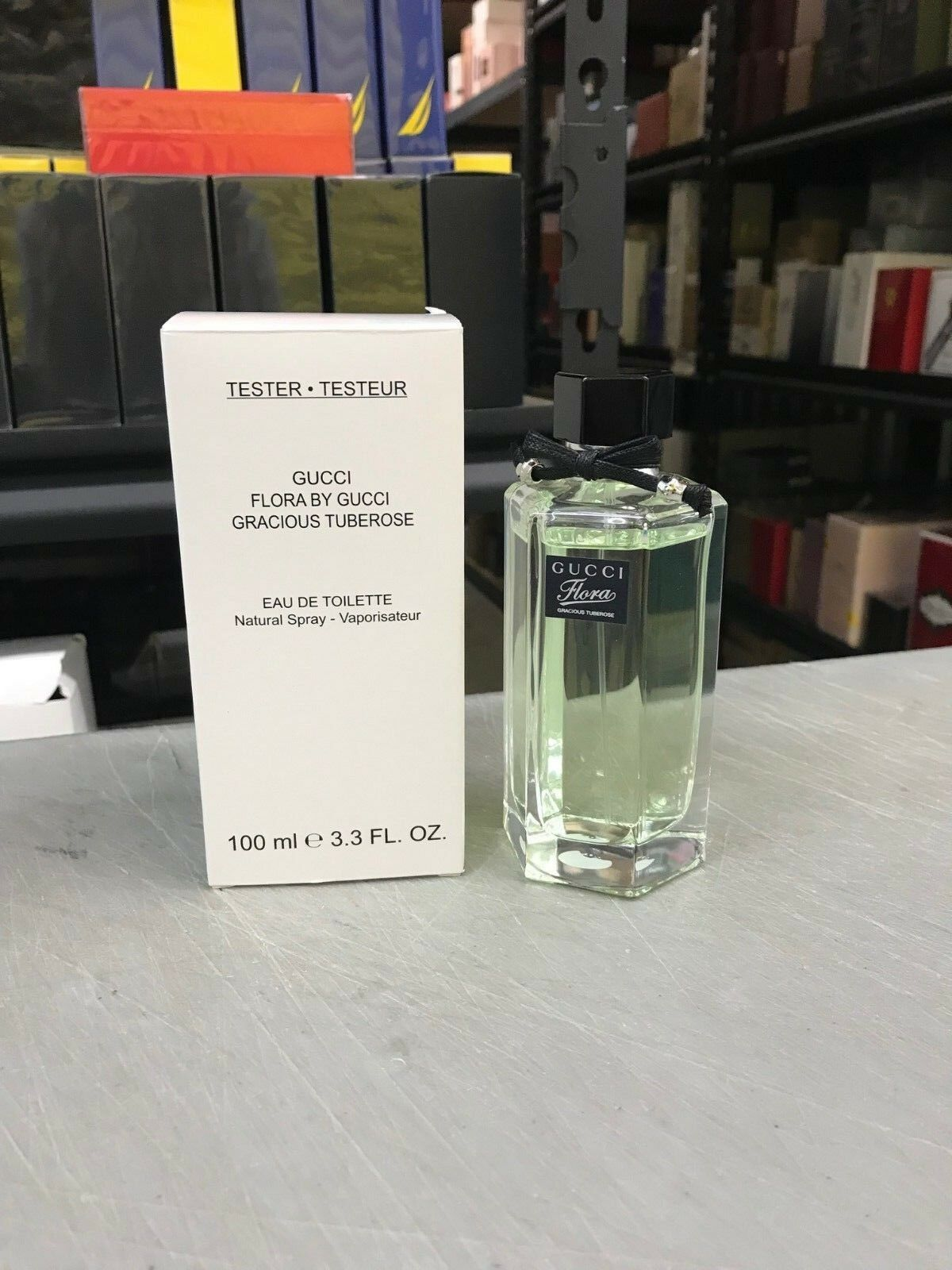 18a9260b676 Flora Gracious Tuberose by Gucci 3.3 Oz EDT for Women Tester 100ml ...