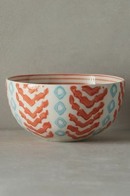 New Anthropologie Linari Nut Bowl ~ Orange Motif - Sold Out!