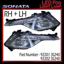 Genuine OEM LED Fog Light Lamp LH & RH Set (with DRL) for Hyundai Sonata 2013