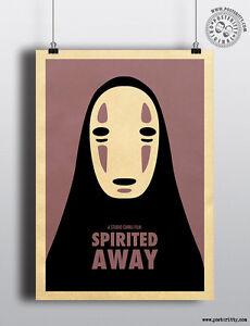 SPIRITED AWAY - Minimalist Studio Ghibli Movie Poster ...