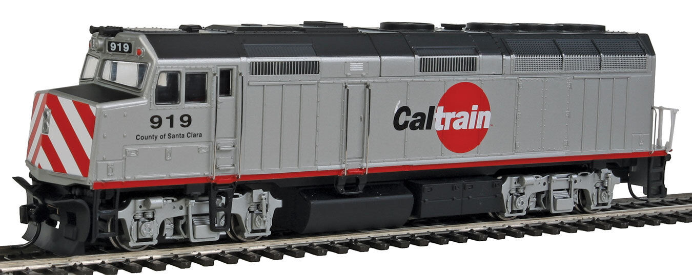 Escala H0 - Locomotora Diésel EMD F40PH Caltrain 9458 Neu
