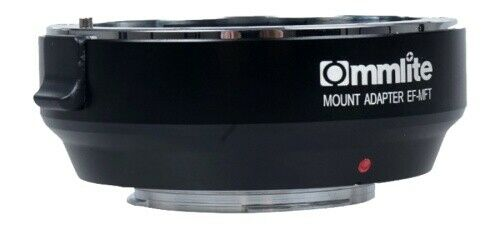 Commlite Canon EF-mft Mount adaptador MF mercancía nueva de distribuidores