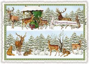 *EDITION TAUSENDSCHÖN*Weihnachten*Postkarte*Engel*Nostalgie*A6