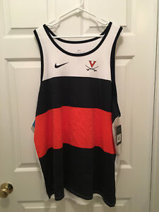 NWT Virginia UVA Cavaliers Football Team Issued Nike Dri-Fit Tank Top 2XL