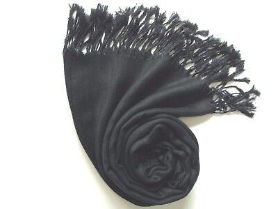 Pashmina Scarf Shawl Veil LIGHT GREY Quality Wrap Woman Men Wedding Écharpe