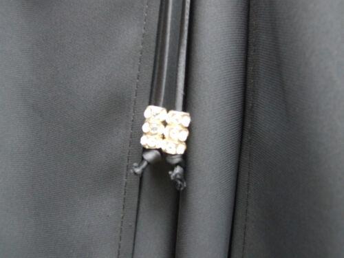 Jupe Cravates Pantalon Insolite Couche Et Diamante Superbe Joseph Noir Ribkoff Uk ARq543jL