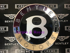 Bentley GT GTC Flying Spur Wheel Center Caps Black Cap Individual #BWCC