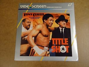 LASERDISC-TITLE-SHOT-TONY-CURTIS-RICHARD-GABOURIE-SUSAN-HOGAN