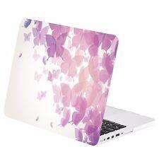 """Purple Butterflies Rubberized Case for MacBook Pro 15"""" w./ Retina Model A1398"""