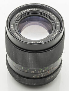 Vivitar-Auto-Telephoto-1-2-8-2-8-100mm-100-mm-M42-M-42