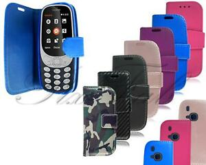 For-Nokia-3310-Case-Slim-Leather-Wallet-Magnetic-Flip-Stand-Premium-Phone-Cover
