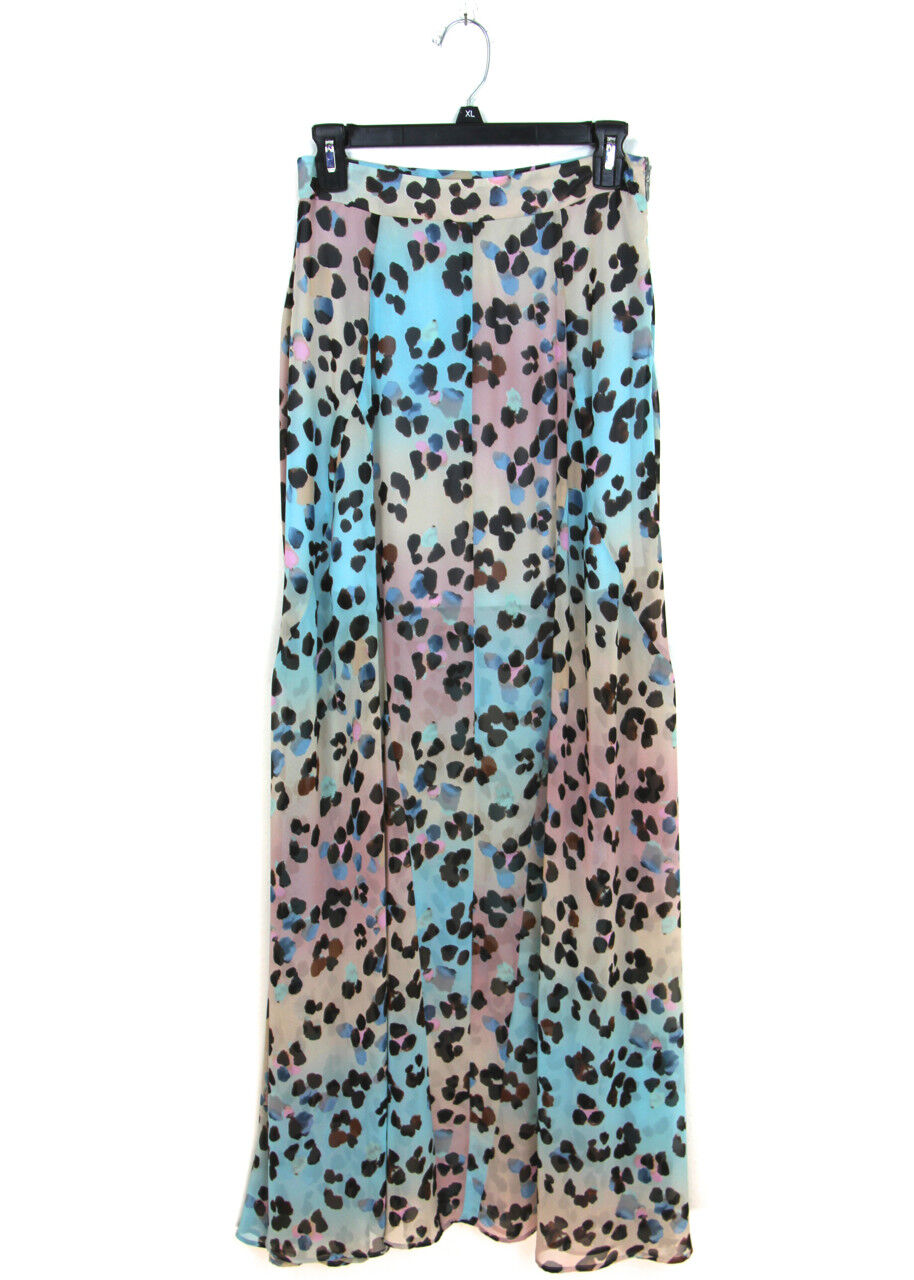 Show Me Your Mumu NWT Sz S Princess Di Ballgown in Cheetahpop Maxi Skirt RARE