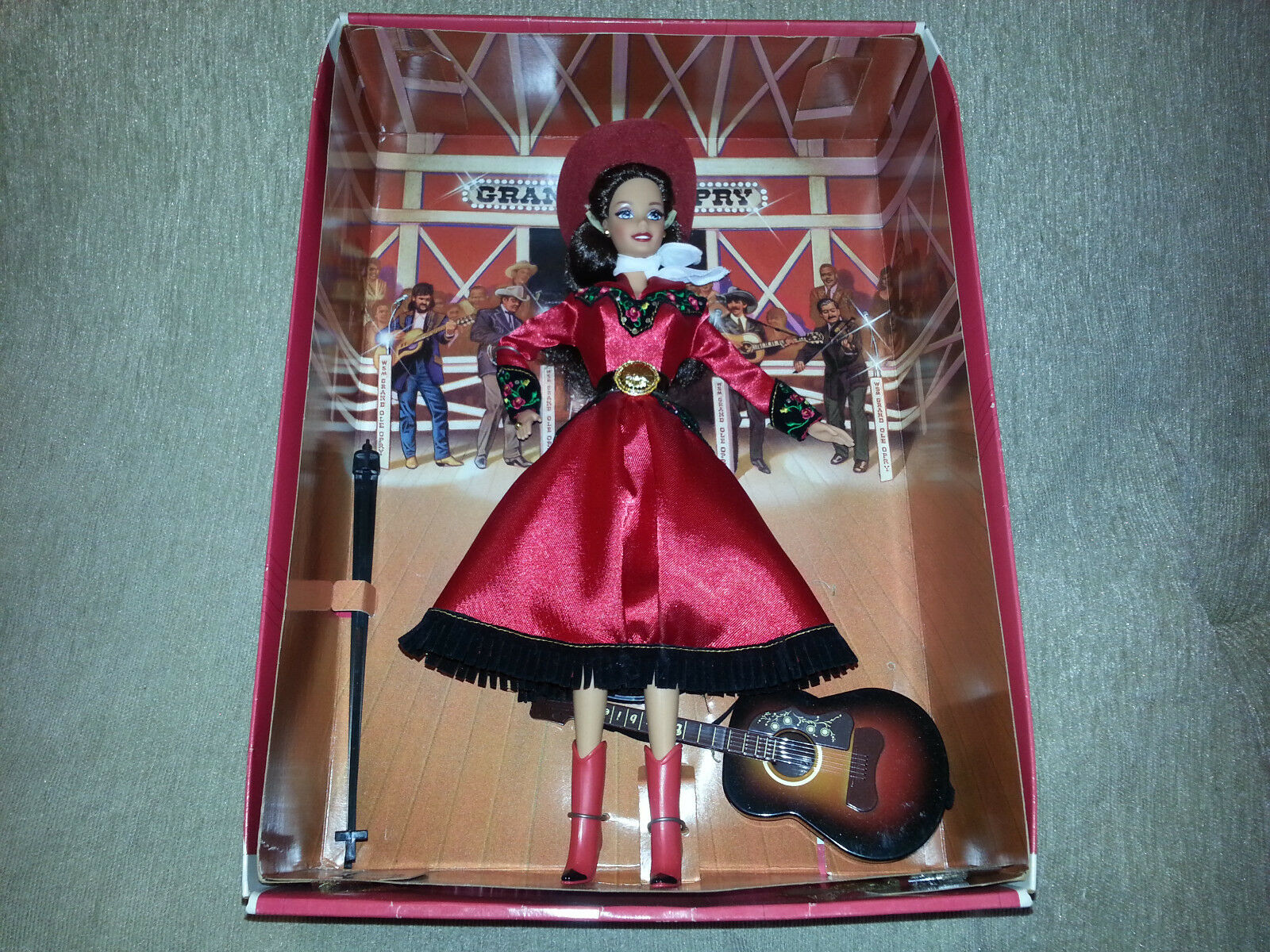 Grand Ole Opry Barbie-Puppe 1997 Mattel Country Sänger 1st in Serie Vintage