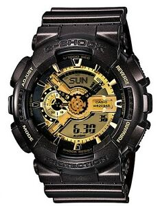 Casio G Shock * GA110BR-5A Anadigi Watch Gloss Brown & Gold COD PayPal