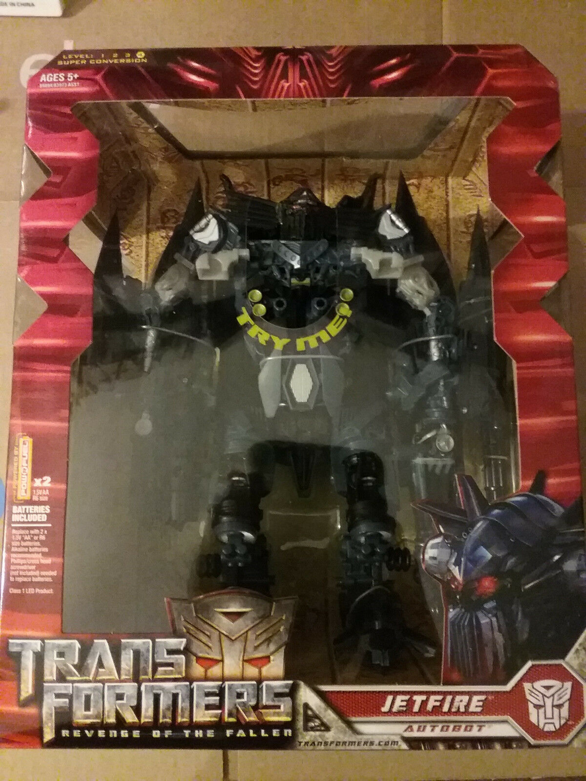 Transformers 1st MOVIE redF Jetfire  NEW  Leader Class FREE SHIP US