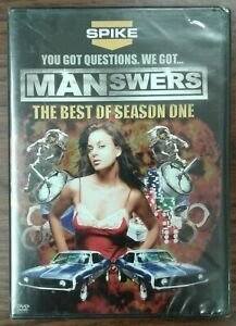Manswers-The-Best-Of-Season-One-DVD-2008-Factory-Sealed