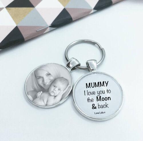 """Tata /""""MAMMA I LOVE YOU Personalizzati regali per la MAMMA foto PORTACHIAVI Mamma"""
