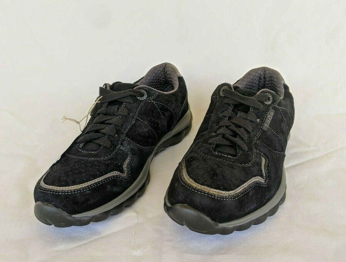 Taos Lifestyle Black Womens Sneakers Size 7 New Without box