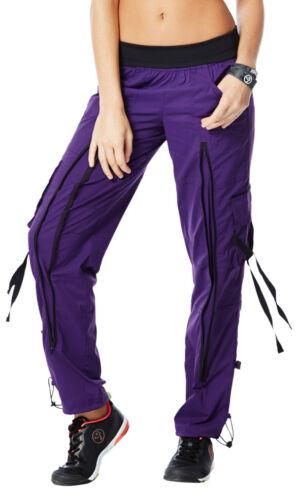 PERFECT STRETCH /& ZIP LEG EliteZWear S M Zumba CARGO PANTS Top of the Line!