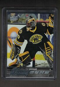 Details About Ud 15 16 Malcolm Subban Young Guns Rookie Card 211 Boston Bruins
