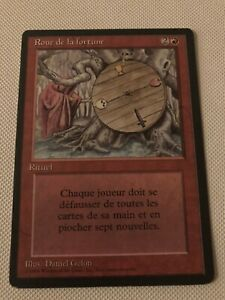 Wheel Of Fortune Magic The Gathering Handmade READSCRIPTION